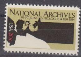 USA 1984 National Archives 1v ** Mnh (45004D) - Ongebruikt