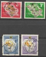 Ghana - 1958 African States Congress Used  SG 189-92  Sc 21-4 - Ghana (1957-...)