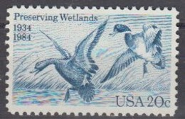 USA 1984 Preserving Wetlands 1v ** Mnh (45004E) - Ongebruikt