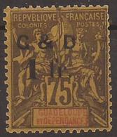 Guadeloupe YV 49  N* TB - Guadeloupe (1884-1947)