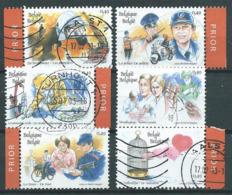 België OBP Nr: 3150 - 3155 Gestempeld / Oblitérés - Een Hart Voor ... Nr. 3153 Zonder Priorstrookje - Zie Scan - Belgium