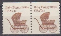 USA 1987 Baby Buggy 1880s 1v (pair) ** Mnh (45004M) - Ongebruikt