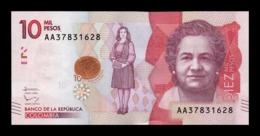 Colombia 10000 Pesos 2015 Pick 460 AA SC UNC - Kolumbien