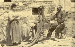 REPRODUCTION CARTE ANCIENNE - H11 - C'ETAIT LA FRANCE - L'AUVERGNE PITTORESQUE - LE MATELASSIER - Ile De Ré