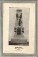 CPA - MIRECOURT (88) - Aspect Du Monument Aux Morts, Années 20 ( Signet Pour Mettre Dans Les Missels ) - Mirecourt