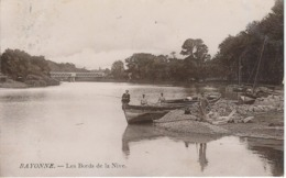 BAYONNE : Les Bords De La Nive - TRES RARE VARIANTE - Cachet De La Poste 1914 - Bayonne