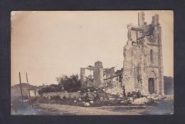 Carte Photo Guerre 14-18 Xivray Marvoisin (55) Eglise De Xivray ( Animée Militaires ) - Francia