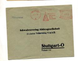 Lettre Flamme Ema Stuttgart Edition - Allemagne