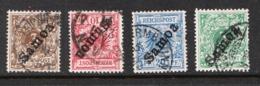 Surcharge Samoa Sur Timbres D'allemagne (overprint) Faux - Forgery - Francobolli