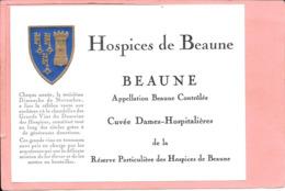 Etiquette Neuve Des Hospices De Beaune Beaune Cuvée Dames-Hospitalières - Bourgogne