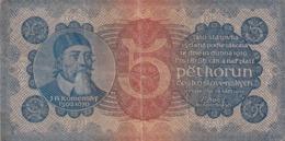 Czechoslovakia 5 Korun 1921 Komensky - Czechoslovakia