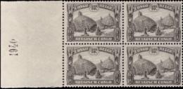 Congo 0169** Paysage  Bloc De 4 - Millésimé 1940 MNH - 1923-44: Mint/hinged
