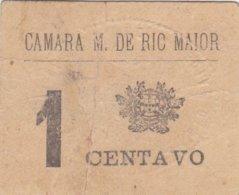 Portugal -Cédula De Rio Maior  1 Ctv  Nº2386 - Portugal