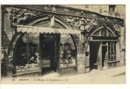 Carte Postale Ancienne Amiens - La Maison Du Sagittaire - Commerce - Amiens
