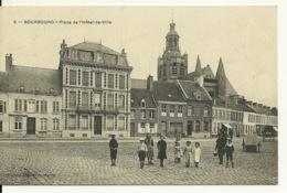 59 - BOURBOURG / PLACE DE L'HOTEL DE VILLE - Autres Communes