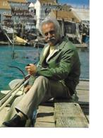 Carte Postale De GEORGES BRASSENS - Cantanti E Musicisti