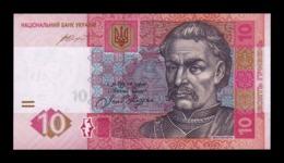 Ucrania Ukraine 10 Hryven 2015 Pick 119Ad SC UNC - Ucraina