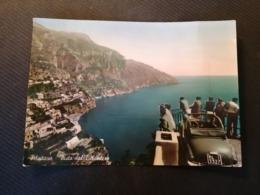 CARTOLINA ANTICA-POSITANO-SALERNO-VISTA DAL BELVEDERE-'900 - Italia