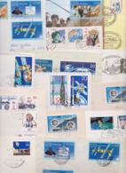 Allemagne Deutschland DDR Philatélie Espace Space Kosmos Sputnik Satellite Sojus Apollo Wostok Lot De 47 Lettres Et FDC - Lettres & Documents