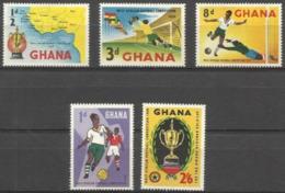 Ghana - 1959 West African Soccer Competition MLH *  SG 228-232  Sc 61-5 - Ghana (1957-...)