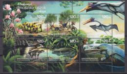 Hungary, Fauna, The World Of The Bakony Dinasours MNH / 2018 - Stamps