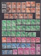 US & Britische Zone - 1948/52 - Sammlung - Gest./Ungebr. - Bizone