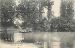 MESNIL CARRIERES SOUS BOIS - Les Bords De La Seine, Bac Passeur. - Autres Communes