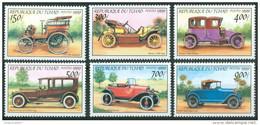 1998 Ciad Tchad Automobili Cars Automobiles Set MNH** B550 - Automobili