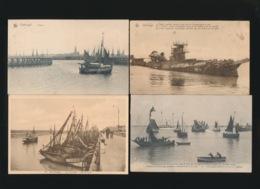 4 KAARTEN ZEEBRUGGE - Zeebrugge