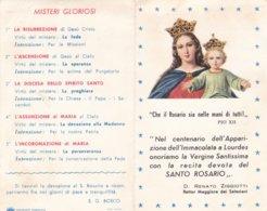 PIEGHEVOLE RECITA DEVOTA DEL SANTO ROSARIO - Religion & Esotérisme