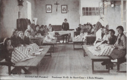 Guipavas:Pensionnat N-D Du Sacré Coeur.L'Ecole Ménagère - France