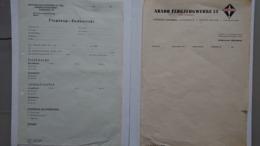 2 Archives Luftwaffe Usines Luftwaffe Arado BE WWII 1939-45 - 1939-45