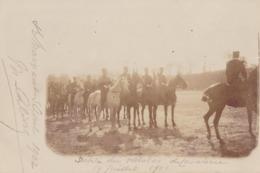 Défilé Du Peloton De Cavalerie Le 14 Juillet 1902 Saint Maixent - Patriotiques