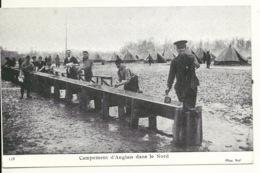 59 - GUERRE De 1914 / CAMPEMENT ANGLAIS DANS LE NORD - France