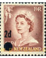 Ref. 348852 * MNH * - NEW ZEALAND. 1958. BASIC . BASICA - Ungebraucht
