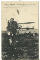 59 - GUERRE 1914-1915 / REGION DU NORD - PARC D'AVIATION AVEC BALLON OBSERVATEUR - France