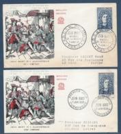 France - FDC - Premier Jour - Jean Bart - Dunkerque - 1958 - FDC
