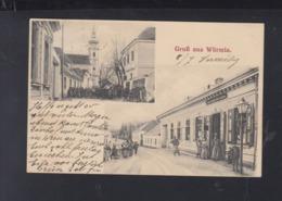 Österreich AK Gruß Aus Würmla 1908 - Österreich