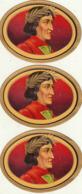 3 étiquette De Cigare  Gaufrée Neuve - Etiquetas