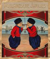 étiquette De Cigare Gaufrée Hollandsche Jantjes - Etiketten