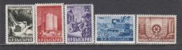 Bulgaria 1949 - Plan Quinquennal, YT 617A/17DA, Neufs** - 1945-59 República Popular