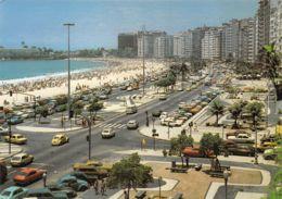 Rio De Janeiro (Brésil) - Vista Partial Do Calçadao E Praia De Copacabana - Brasilien