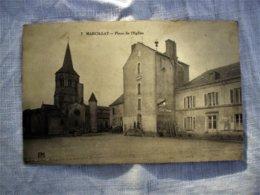 MARCILLAT 03 - Place De L,E Glise - PM - N° 7 - France