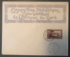 Algérie, Enveloppe 1930, TAD EXPOSITION PHILATELIQUE INTle D'ALGER - (B1606) - Algeria (1924-1962)
