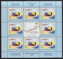 2006 Jugoslawien  Srbija I Crna Cora Mi. 3329-0 ** MNH  Sheer  Europa - 2006