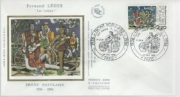 France - FDC 1er Jour - 1er FEV 1986 - FRONT POPULAIRE - FDC