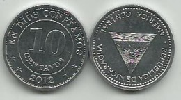 Nicaragua 10 Centavos  2012. High Grade - Nicaragua