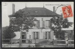 CPA 10 - Saint-Mesmin, Mairie Et Ecole - France