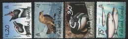 2015 Falkland Islands Maritime Fauna Penguins Birds Complete Set Of 4 MNH @FACE - Falklandeilanden