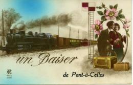 Un Baiser De PONT A CELLES - Pont-à-Celles